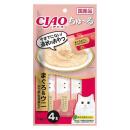 CIAO チャオ ちゅ〜る まぐろ&ウニ かつお・ササミ入り 4本