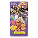 いなば 焼ミックス 猫用 3つの味 かつお節・チキンスープ・いか風味 25g