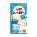 CIAO チャオ かつお節ボーノ 魚介クリームスープ 17g×5本