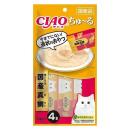 CIAO チャオ ちゅ〜る まぐろ&真鯛 4本