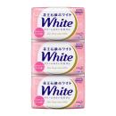 花王石鹸 ホワイト バスサイズ アロマティック・ローズの香り 130g×3コパック