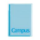 コクヨ キャンパスカバーノート(プリント収容ポケット付き) ブルー ノ−623A−B