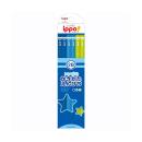 トンボ ippo! かきかたえんぴつ BLUE 2B プレーン 12本 M04