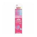 トンボ ippo! かきかたえんぴつ Pink 4B W04