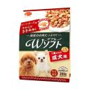 ビタワン君のWソフト 1歳からの成犬用 小粒 ビーフ・チーズ味・やわらかささみ添え 小分け4パック 200g