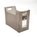 ナカバヤシ A4 ファイルボックス EW04 幅16.2cm ブラウン