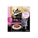 シーバ デュオ 12ヶ月までの子ねこ用 香りのまぐろ味セレクション 200g/20g×10袋