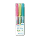 パイロット フリクションライト 蛍光ペン ソフトカラー 3色セット