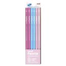 三菱鉛筆 かきかた鉛筆 ユニパレット B (パステルピンク) 1ダース K5561B