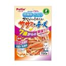 ペティオ 乳酸菌のちから おなかにうれしい ササミとチーズ 7歳からの健康ケア 150g