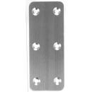 ステン中厚金折 IH−104 両面皿ネジ50×50
