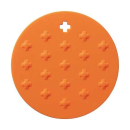 シリコン鍋敷き パプリカオレンジ