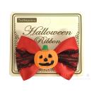 inunekoneru ハロウィンリボン かぼちゃレッド