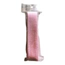 アクリルベルト ピンク×ホワイト 2.5mm×1.5m