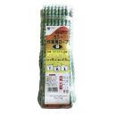 カラー作業用ロープ 混撚 緑 9mm×15m