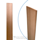 ユーカリ工作板 3×60×900 1枚