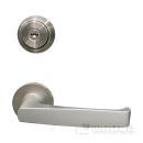 美和ロック 玄関錠 レバーハンドル U9−LA20−1 BS51 シルバー