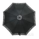 60cm 子供用 ジャンプ傘 黒×迷彩 GY