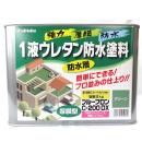 日本特殊塗料 1液ウレタン防水塗料 プルーフロンC−200DX 防水層 グリーン 9kg