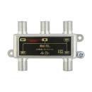 屋内用 ダイカスト 4分配器 1端子電流通過型 SHD4A