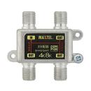 屋内用 ダイカスト 3分配器 全端子電流通過型 SHD3AT