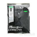 TS DESIGN 95−9972R 半袖ポロシャツ 95 ブラック×グリーン S