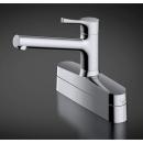 【ロイサポート用】TOTO 台付シングル混合水栓 エコシングル・湯水分岐口付・取替用 TKS05319J