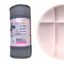 洗える 高反発巻き巻き枕 POYON ピンク