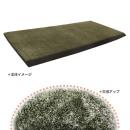 高反発フロアクッション ルーチェル 59×110cm グリーン