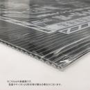 ポリカーボネート中空構造板 ブラインドカーボ 910×1820×4mm 横目 ブラック
