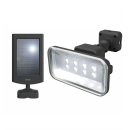 ムサシ RITEX 5Wワイド フリーアーム式LED ソーラーセンサーライト