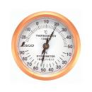 シンワ 温湿度計 丸型 U−3