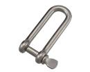 ステンロングシャックル 4mm−50kg