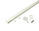 角型フックレールセット ホワイト1m 石膏ボード