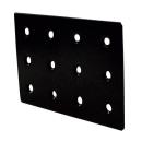 2×4サポート (ツーバイサポート) 帯金物 24F1−BK 黒塗装 1個