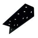 2×4サポート (ツーバイサポート) Lアングル 24A2−BK 黒塗装 1個