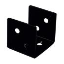 2×4サポート (ツーバイサポート) コの字型 24K1−BK 黒塗装 1個