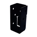 2×4サポート (ツーバイサポート) 受け金物 24U1−BK 黒塗装 1個