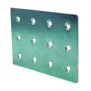 2×4サポート (ツーバイサポート) 帯金物 24F1−Y ユニクロめっき 1個