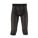 クレーターメッシュ パンツ 7分丈 ブラック M