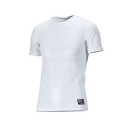 クレーターメッシュ 半袖シャツ 3L ホワイト