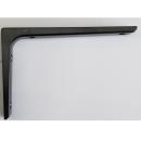 アルミブラケット黒 100×150