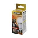 アイリス LED電球 E17 広配光 調光 60形相当 電球色 LDA9L-G-E17/D-6V3