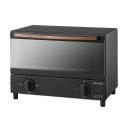 アイリスオーヤマ スチームオーブントースター 2枚焼き BLSOT-011B ブラック
