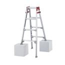 ハセガワ 脚部伸縮式梯子兼用脚立 4段(4尺) RYZ−12b