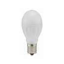 OHM LED電球 小型 E17 60形相当 電球色