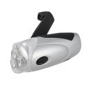 オーム電機 ダイナモLEDライト 手回し発電 LED-D02S