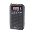 オーム電機 AudioComm DSPポケットラジオ RAD-P350N-K ブラック