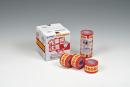カモイ 作業中注意テープ    40mm18m3P