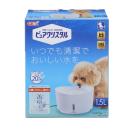 GEX ピュアクリスタル 犬用 本体 1.5L ホワイト